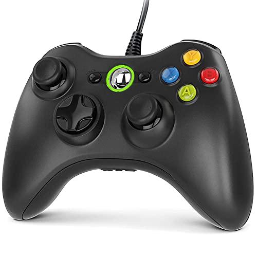 Gezimetie Controller für Xbox 360, Gamepad Joystick mit USB Kabel, Wired Gamepad für Microsoft Xbox 360 und...
