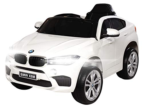 Actionbikes Motors Kinder Elektroauto BMW X6M F16 - Lizenziert - 90 Watt Motor - Eva Vollgummi Reifen - 2,4...