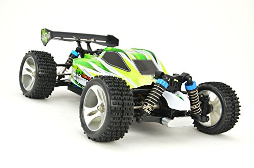 RC Monstertruck 'WL Toys A959-B' 1:18 - 4WD - 60+ km/h schnell mit LiPo + 2,4Ghz
