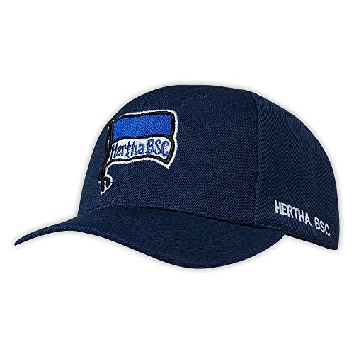 Hertha BSC Berlin Basecap Logo Navy, Kappe, Cap, Schildmütze- Plus Lesezeichen I Love Berlin