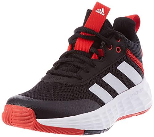 adidas OwnTheGame 2.0 Basketballschuh, Core Black/Cloud White/Vivid Red, 37 1/3 EU