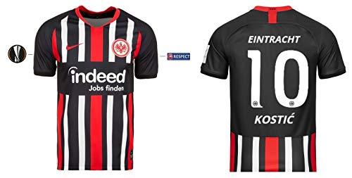 Eintracht Frankfurt Trikot Herren 2019-2020 Home UEL - Kostic 10 (L)