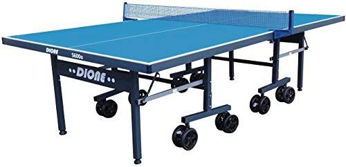Dione Tischtennisplatte S600o Outdoor - 6mm top - Tischtennistisch Blau TT-Platte klappbar für draußen - 95%...