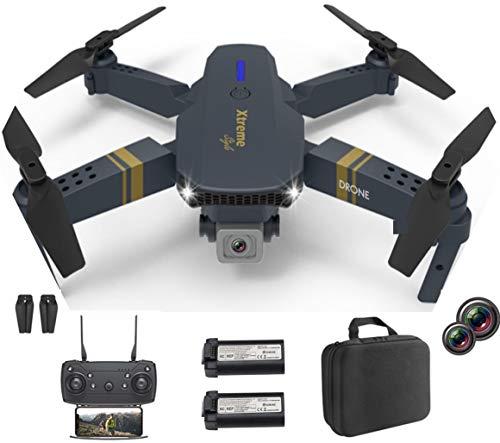 XTREME STYLE ✈️ FPV Mini Drohne mit Dual Kamera 4K UHD. 50x D-Zoom . 2 Akkus für 30 min Flugzeit....