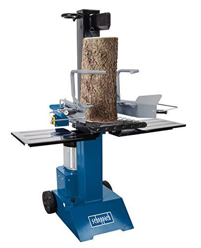scheppach Holzspalter stehend HL815-8t Spaltkraft | 3000W | Zylinderhub 450 mm | Transporträder |...