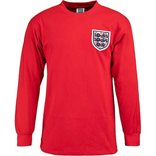 Score Draw England Bobby Moore World Cup 1966 Retro Trikot (XXL, red)