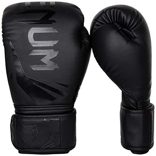 Venum Boxhandschuhe Challenger 3.0, Schwarz/ Schwarz, 14 oz, VENUM-03525-114-14oz
