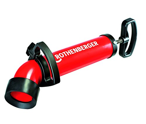 Rothenberger Ropump Super Plus Saug-Druckreiniger (hohe Saug- und Druckkraft, langer Adapter für Toiletten)...