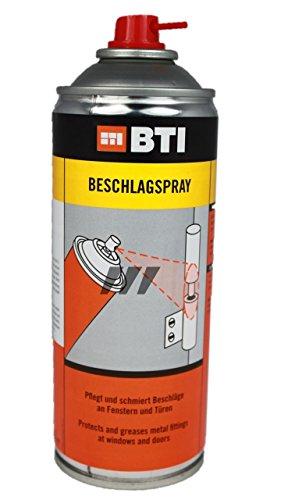 BTI Beschlagspray 400 ml Spraydose/Wartungspray/Fensteröl