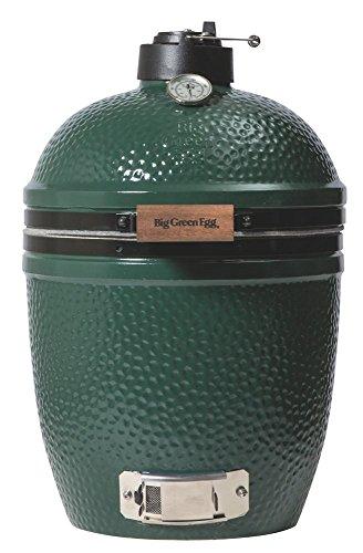 Big Green Egg, großer Grillkessel, grün