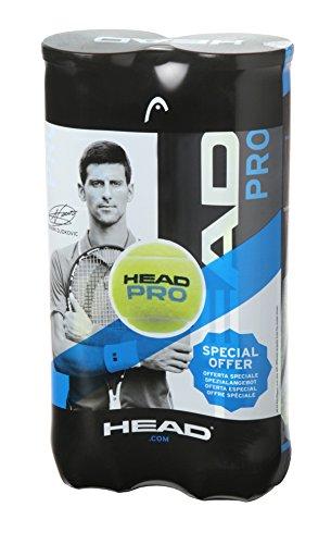 Head Pro Tennisbälle, Unisex, 571721, gelb, one Size