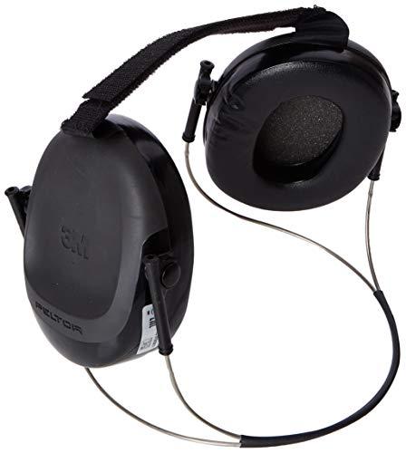 3M Peltor H505B Speedglas 9100 Kapselgehörschutz für Schweißerhelme, SNR 24 dB, Schwarz