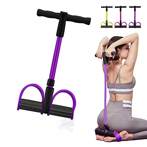 Camfosy Body Tube Fitnessband Expander Stark Schaumstoffgriff Portable Pilates Resistance Band Toning Bar Home...
