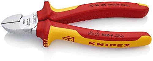 KNIPEX Seitenschneider 1000V-isoliert (160 mm) 70 06 160
