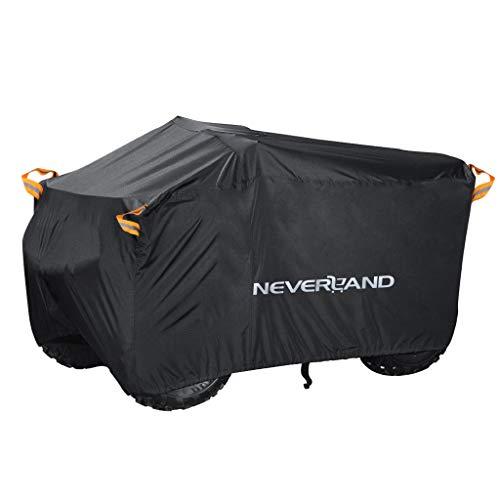 NEVERLAND XXXL Quad ATV Abdeckplane NEVERLAND Fahrzeug Abdeckung Schutz Cover 190T 256*110*120cm...