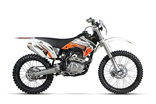 CENKOO K2 250cc Luftkühlung 21/18' Enduro Motocross Dirt Bike Weiß