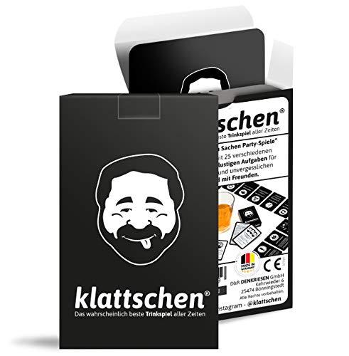 DENKRIESEN - klattschen® - Trinkspiel - Das wahrscheinlich Beste Trinkspiel Aller Zeiten | Partyspiel |...