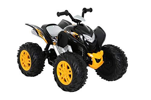 ROLLPLAY Elektro-Quad, Fr Kinder ab 3 Jahren, Bis max. 35 kg, 12-Volt-Akku, Bis zu 4,5 km/h, Powersport ATV,...