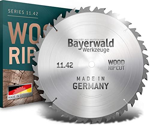 Bayerwald - HM Kreissägeblatt - Ø 700 mm x 4,2 mm x 35 mm   Wechselzahn (42 Zähne)   grobe, schnelle...