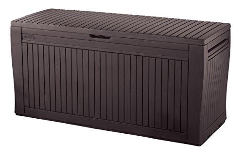 Keter 231317 Comfy Box, Braun, 116.7 x 44.7 x 57 cm
