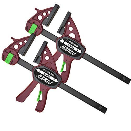 2 Stück Piher Mini Quick Einhandzwinge 30 cm Schraubzwinge Spann Spreiz Zwinge Klemme