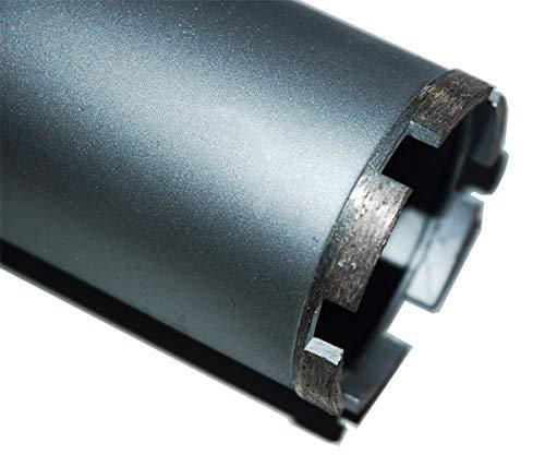 1¼' UNC Diamantbohrkrone Kernbohrkrone Kernbohrer DM 82 mm L 400 mm