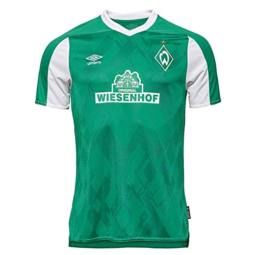 UMBRO Werder Bremen Trikot Home 20/21 (L, Green/White)