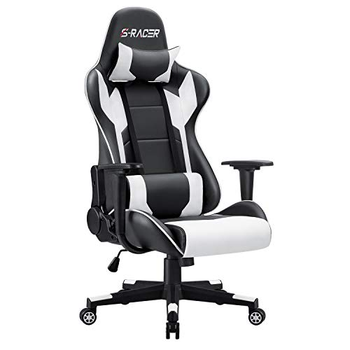 Homall Gaming Stuhl Bürostuhl Zocker Stuhl Ergonomischer Gamer Stuhl PC-Stuhl Racing Computerstuhl...