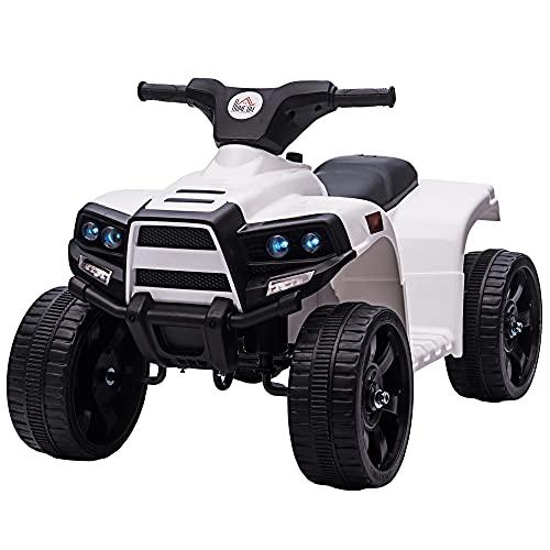 HOMCOM Mini Elektro-Quad Kinder Elektro ATV Kinderwagen für 18 bis 36 Monaten Elektromotorrad mit 2...