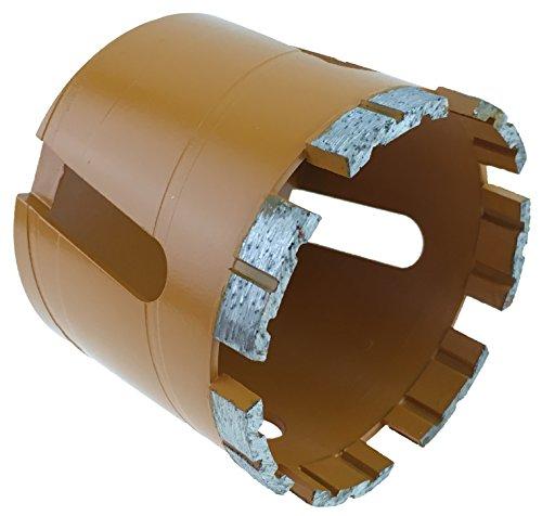 PRODIAMANT Premium Diamant-Dosensenker Mauerwerk 82 mm x M16 PDX957.638 82mm 7 Diamantsegmente hohe Standzeit
