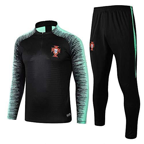 XunZhiYuan Portugal Team Langarm Trainingsanzüge Uniformen und Ausrüstung Fußball Uniformen und Ausrüstung...