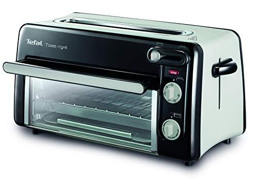 Tefal Toast n' Grill TL6008 | 2 in 1 Toaster und Mini-Ofen | Sehr energieeffizient und schnell | 1300 Watt |...