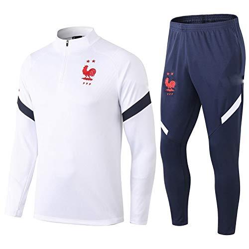 PARTAS Langarm Frankreich Tracksuits Football Wear Verein Uniform Trainingsanzug Wettbewerb Anzug Frankreich...