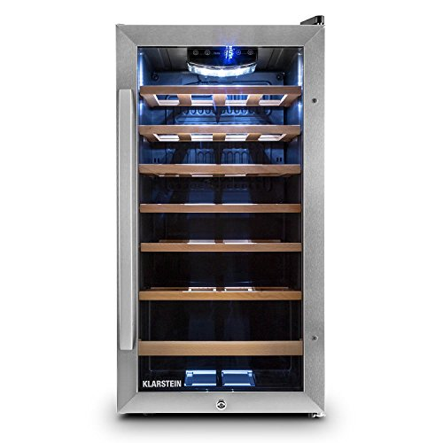 Klarstein Alleinversorger Kühlschrank Standkühlschrank (90 Liter, 82 cm hoch, 7 L Eisfach, Gemüsefach,...
