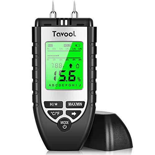 Feuchtigkeitsmessgerät Feuchtigkeitsmesser-Feuchtigkeits-Detector Feuchtigkeitsdetektor mit Batterie und...