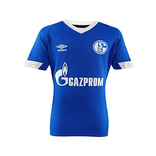 FC Schalke 04 Umbro Trikot Home 18/19 (134, blau)