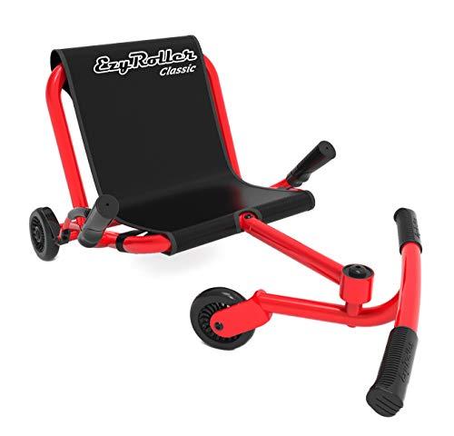 EzyRoller Classic Kinderfahrzeug Dreirad Sitz Spielzeug, Farbe: rot