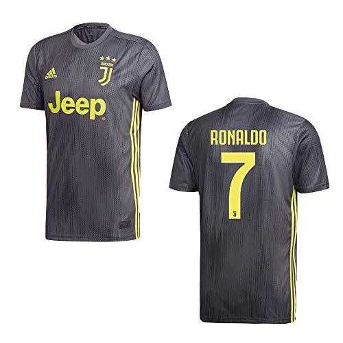 adidas Juventus Turin Trikot 3rd Herren 2019 - Ronaldo 7, Gre:M