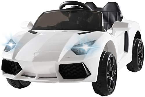 Actionbikes Motors Kinder Elektroauto Super Sport - Ledersitz - Mp3 - USB - SD - 2,4 Ghz Rc Fernbedienung mit...