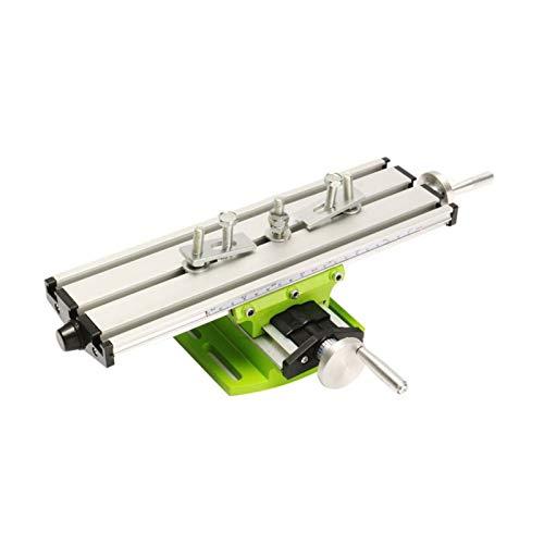 QWXZ Holzwerkzeuge Miniatur-Präzisions-Multifunktions-Fräsmaschine Bench Drill Vise Fixture Einstellbarer...