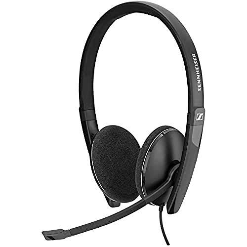 Sennheiser PC 5.2 Chat, Stilvolles Multi-Plattform On-Ear Headset PC, Kopfhörer mit Kabel, Bewegliches...