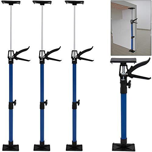 Deuba Türspanner im 3er Set stufenlos höhenverstellbar 50-115cm bis 45° Türfutterstrebe Türzarge...
