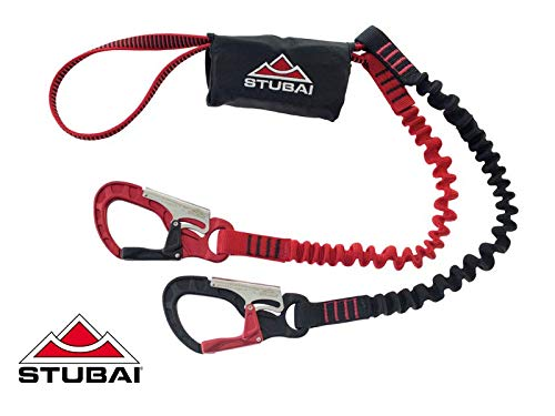 Stubai Basic Connect 2.0 Via Ferrata Set red/Black 2019 Klettersteigset
