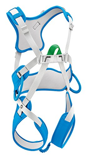 PETZL Kinder ouistitiharness Klettergurt, methylblau, One Size