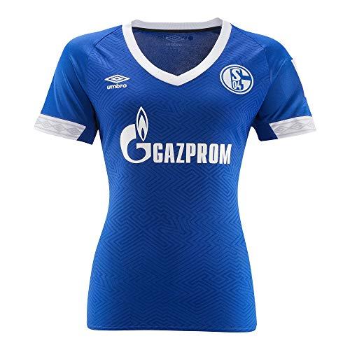FC Schalke 04 Umbro Women Trikot Home 18/19 (14, blau)