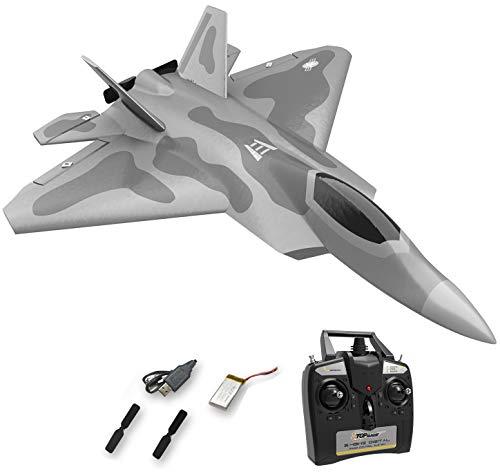 Top Race Rc Jet 4-Kanal ferngesteuerte Kampfflugzeuge für Erwachsene, Hochgeschwindigkeitsflugzeuge, nur für...
