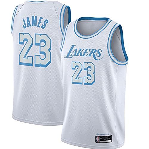 Lakér # 23 Jamés Neue Saison Basketball Jersey Special Edition Retro Gestickte Basketball Shirt Weste Mesh...