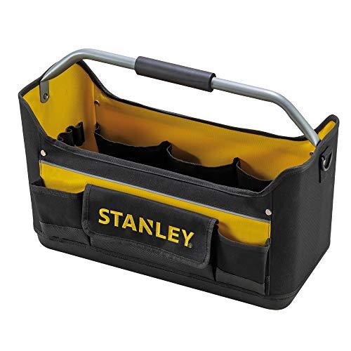 Stanley Werkzeugtrage / Werkzeugtasche (44.7x27.7x25.1cm, 600 Denier Nylon, ergonomischer Gummihandgriff,...