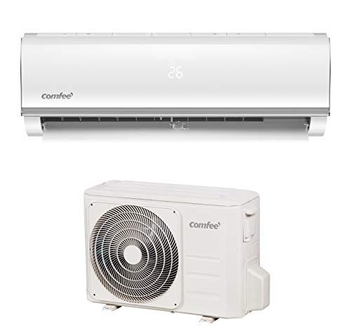 Comfee Split-Klimageräte MSAF5-09HRDN8-QE R32 SET, Leise Festinstallierte Split Klimaanlage für Räume bis...
