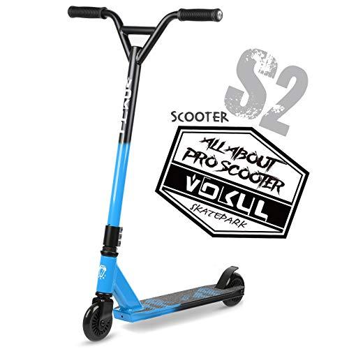 VOKUL TRII S2 Pro Stunt Scooter - Freestyle Tricks Stuntscooter Roller mit 100mm Rädern - TRII S2 Pro Stunt...